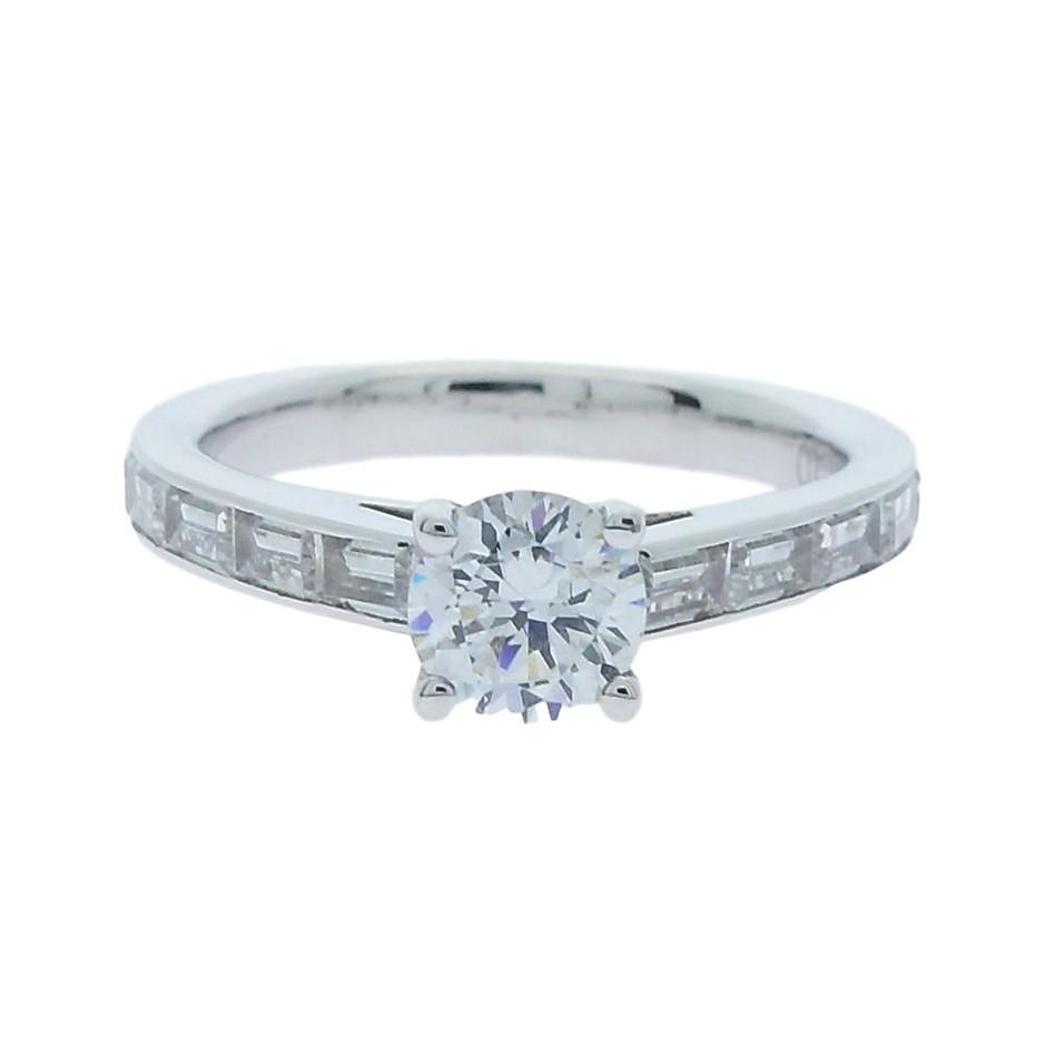 1.35 Carat Sterling Silver ring