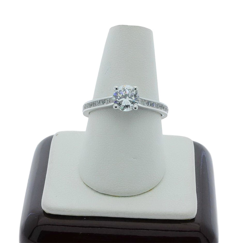 1.10 Carat Sterling Silver ring
