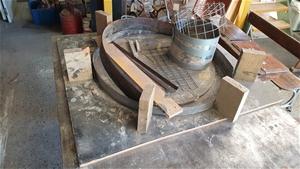 Round Concrete Table Mold