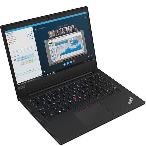 Lenovo ThinkPad E495 14-inch Notebook, Black