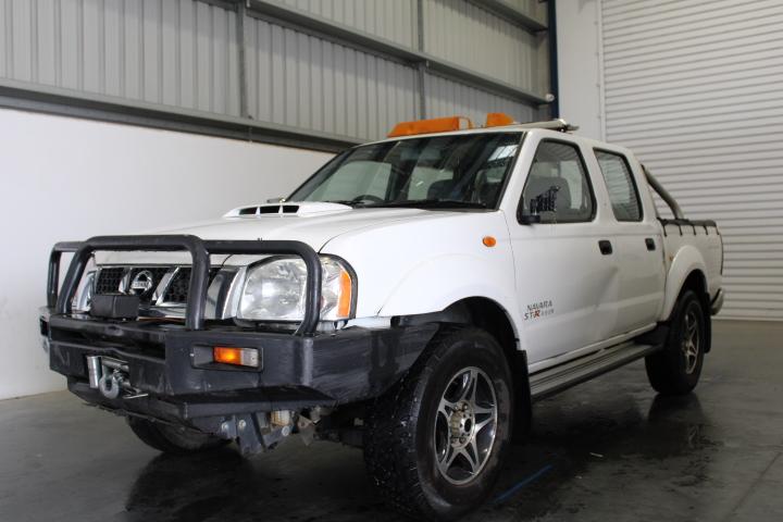 2015 Nissan Navara ST-R 4x4 D22 T/Diesel DualCab(WOVR-Statutory Write-off)