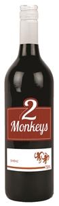 2 Monkeys Shiraz 2021 (12 x 750mL) SEA