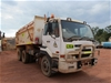 2007 Nissan UD CWB483 6 x 4 Tipper Truck With Water Tank