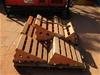 Qty 7 x Heavy Duty Truck Chocks