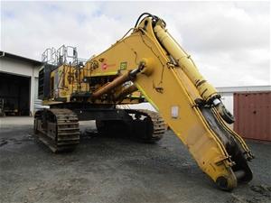 2010 Komatsu PC1250-8R Hydraulic Excavat