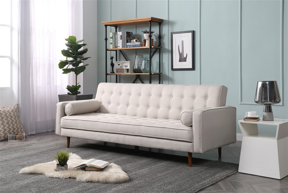 Sofa Marcella Beige Standard Fabric