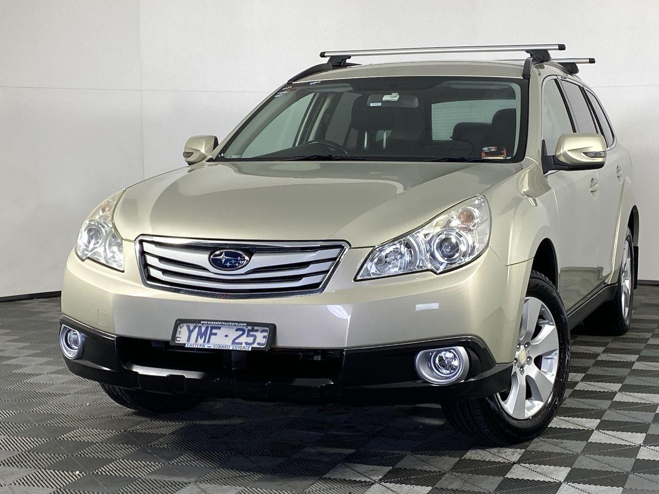 2011 Subaru Outback 2.5i B5A Manual Wagon