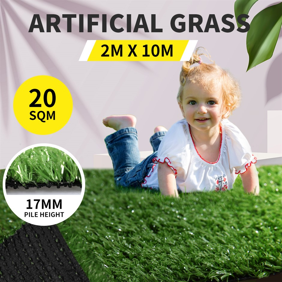 20SQM Artificial Grass Lawn Outdoor Synthetic Turf Plastic Plant Lawn