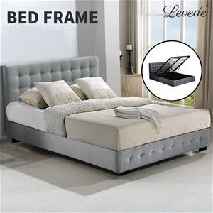 Levede Bed Frame Queen Size Mattress Pla