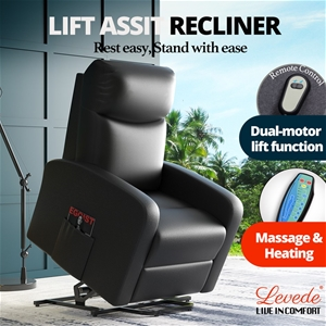 Levede Electric Massage Chair Recliner C