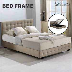 Levede Bed Frame Base With Gas Lift Doub
