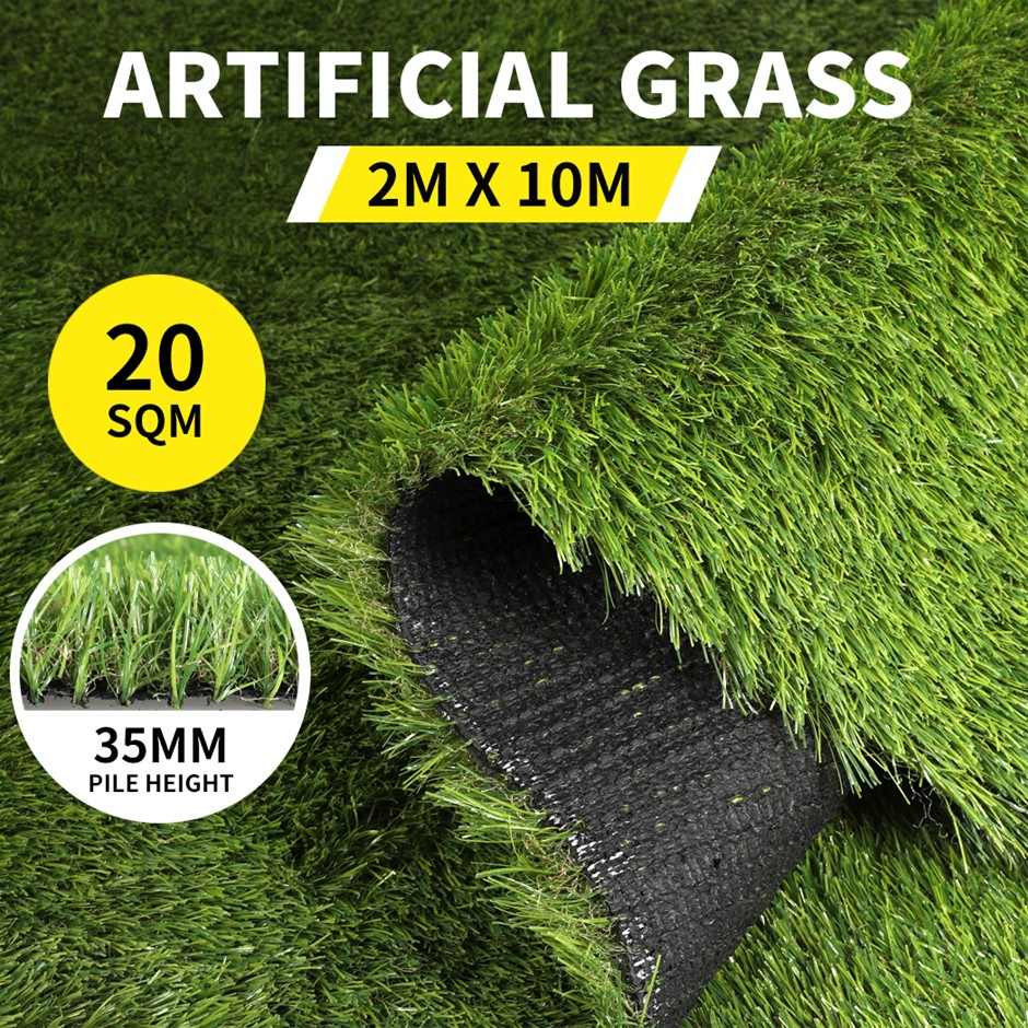 20SQM Artificial Grass Lawn Outdoor Synthetic 4-Grass Plant Lawn