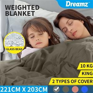 DreamZ Weighted Blanket 10KG Heavy Gravi
