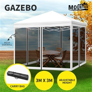 Mountview Gazebo 3x3 Marquee Pop Up Tent