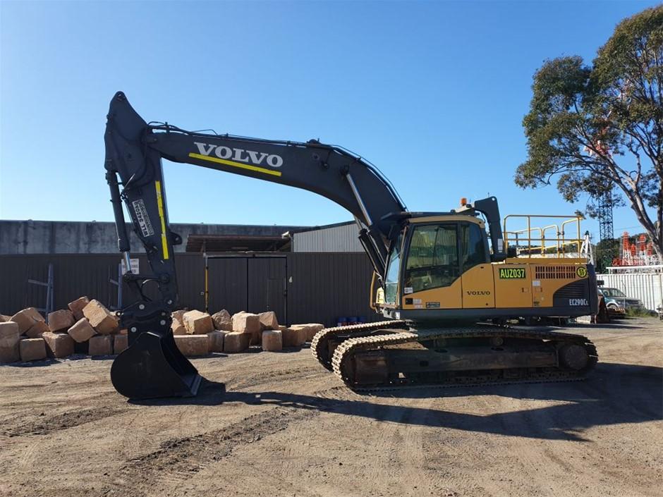 2010 Volvo EC290CL Excavator