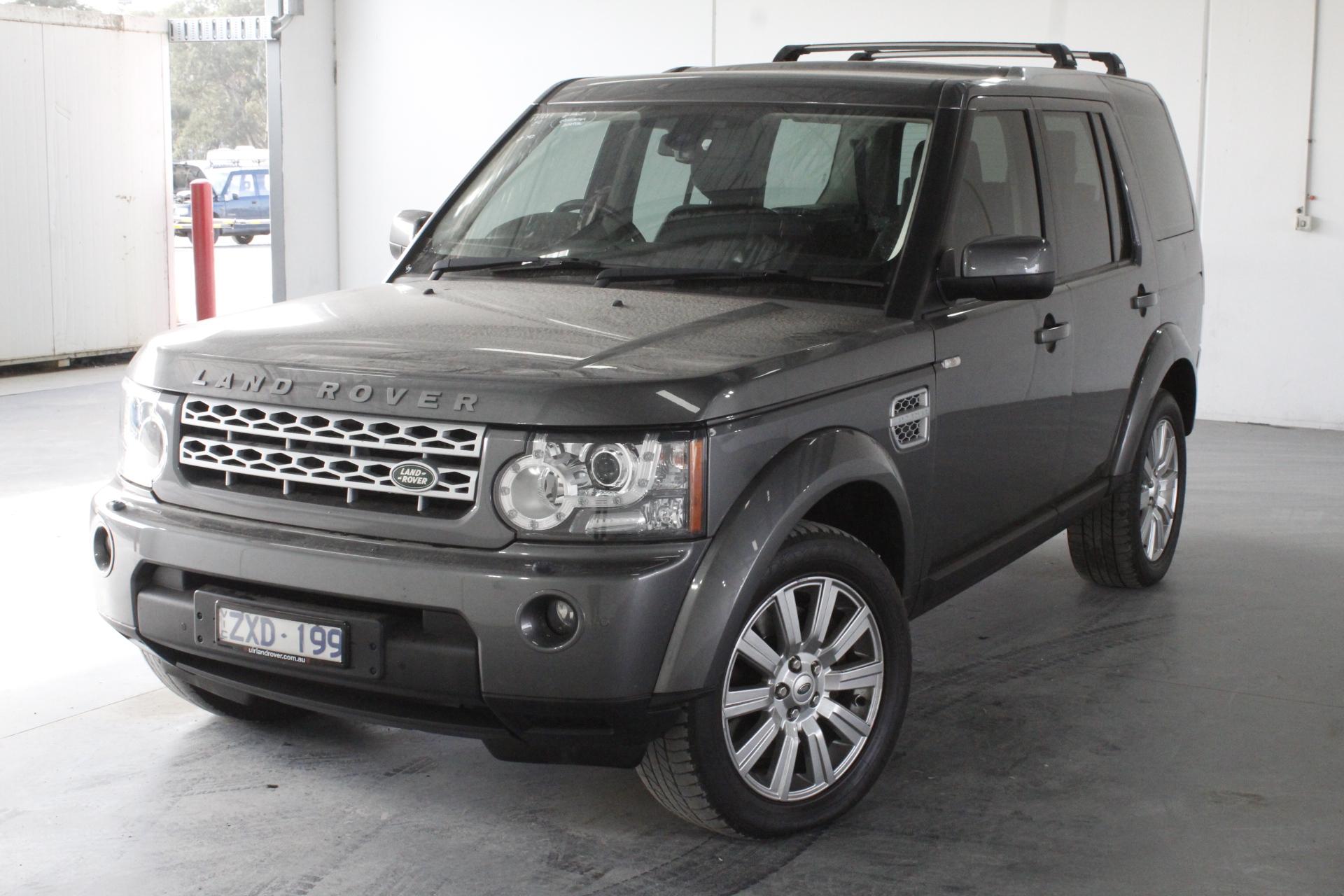 2013 Land Rover Discovery 3.0 SDV6 SE Series 4 T/D Auto 7 Seats Wagon