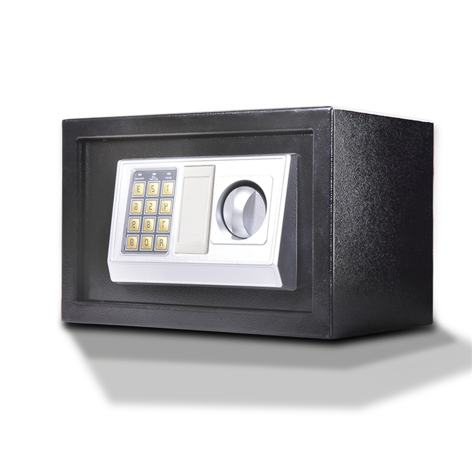 20L Electronic Safe Digital Security Box Home Office Cash Deposit Password