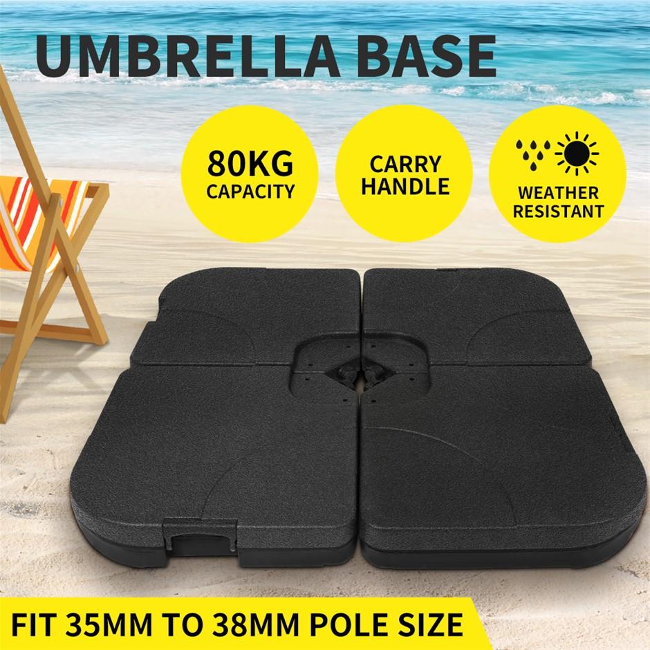 Outdoor Umbrella Base Stand Pod Weight Sun Sand Umbrellas Patio Cantilever