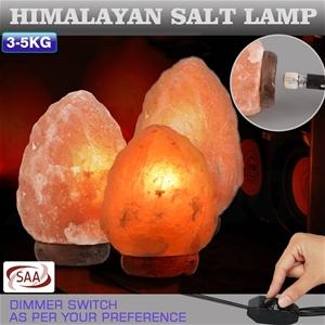 2 Pcs 3-5 kg Himalayan Salt Lamp Rock Cr