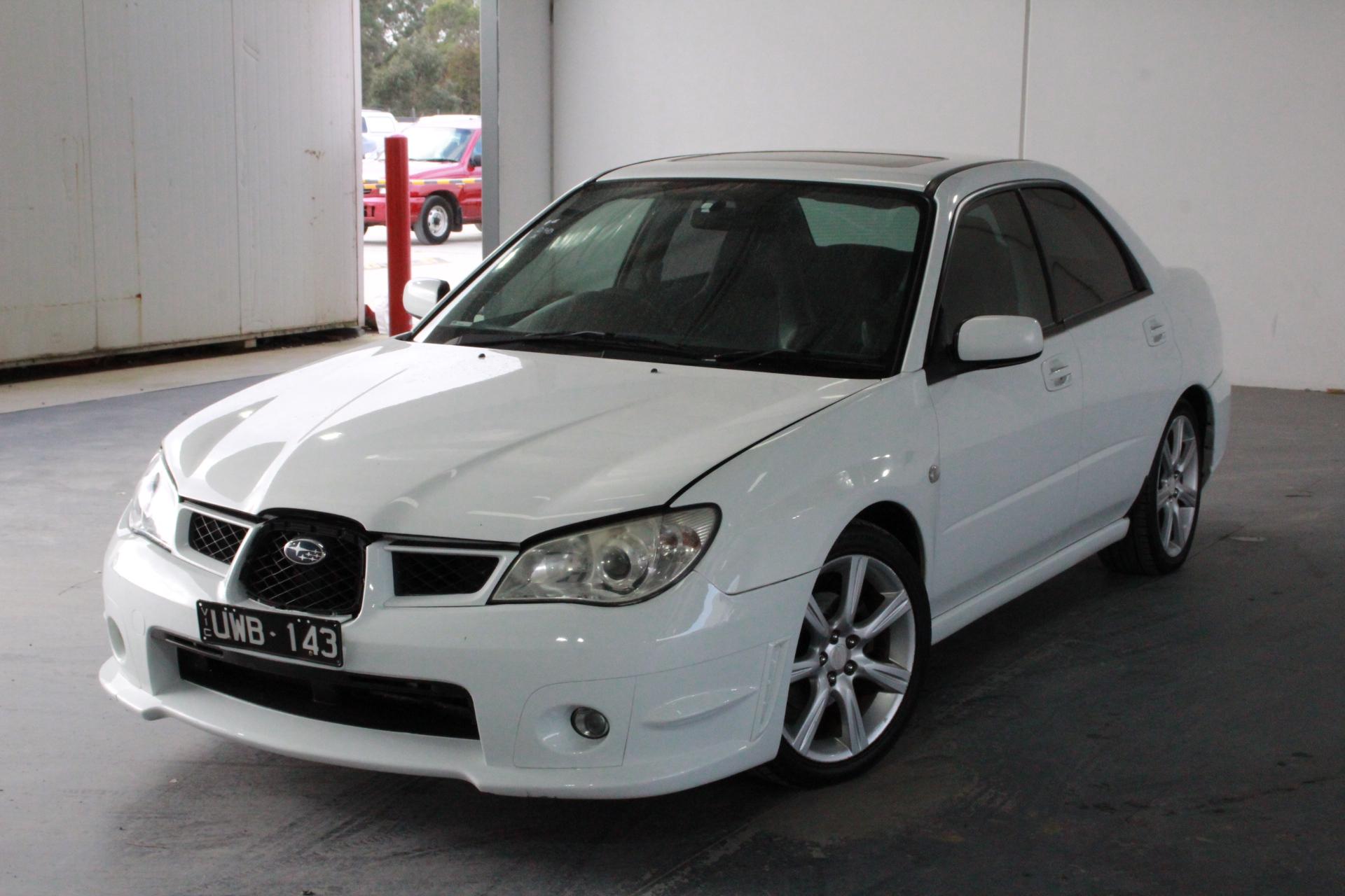 2007 Subaru Impreza 2.0i (AWD) G2 Automatic Sedan