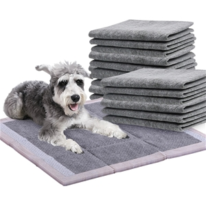 PaWz 200 Pcs 60x60cm Charcoal Pet Dog To