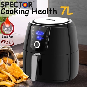 Spector New 7L Air Fryer LCD Health Cook