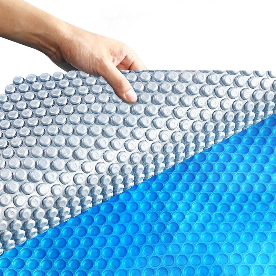 Solar Swimming Pool Cover 500 Micron Outdoor Blanket Isothermal Bubble 7