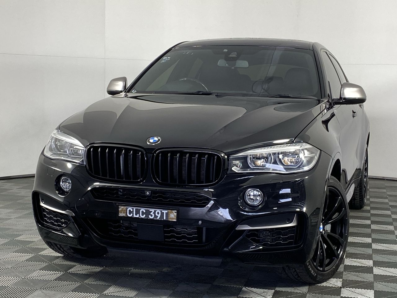 2015 BMW X6 M50d F16 Turbo Diesel Automatic - 8 Speed Coupe