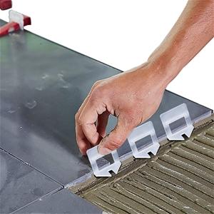 2000x 1MM Tile Leveling System Clips Lev