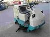 2001 Tennant 515 ES Electric Ride On Floor Sweeper