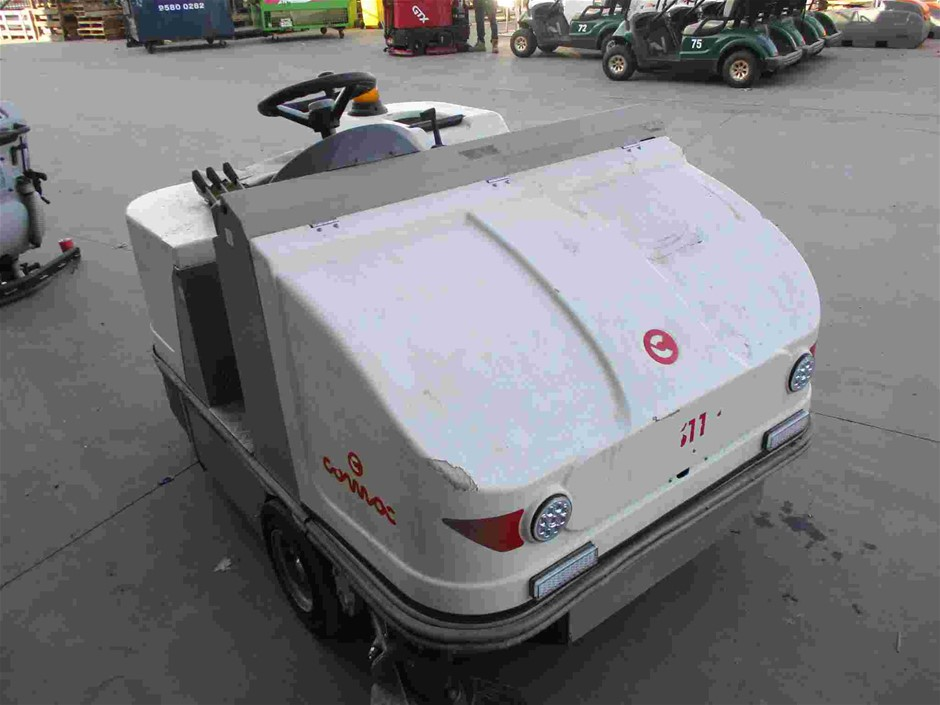 2013 Comac CS110D2SL Ride On Floor Sweeper