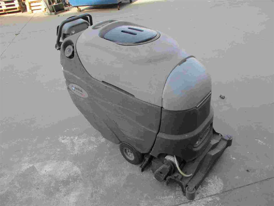 Nilfisk AX 651 Multi Eds Walk Behind Electric Floor Sweeper
