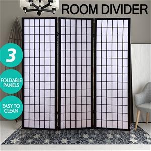 Levede Room Screen 3 Panel Folding Priva