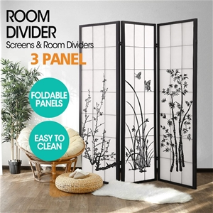 Levede 3 Panel Free Standing Foldable Ro