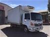 <p>2009 Hino FD1J 4 x 2 Refrigerated Body Truck</p>