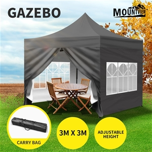Mountview Gazebo Pop Up Marquee 3x3m Out
