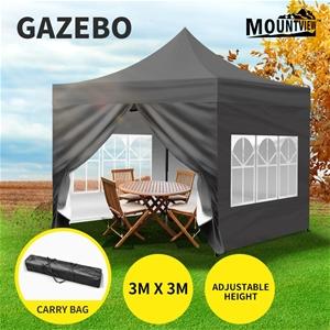 Mountview 3x3M Gazebo Outdoor Pop Up Ten