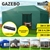 Mountview Gazebo Pop Up Marquee 3x3m Tent Outdoor Camping Canopy Party