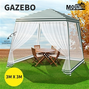 Mountview Pop Up Marquee Gazebo 3x3m Out