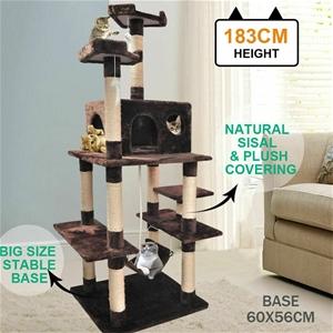 PaWz 1.83M Cat Scratching Post Tree Gym