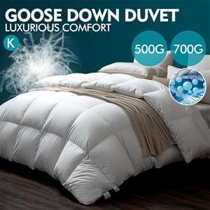 DreamZ 700GSM All Season Goose Down Feat