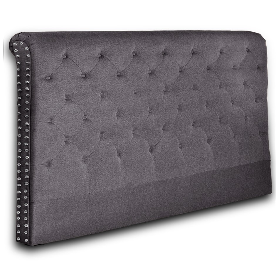 Levede Double Queen King Stylish Bed Frame UpholsteFabric Base Headboard