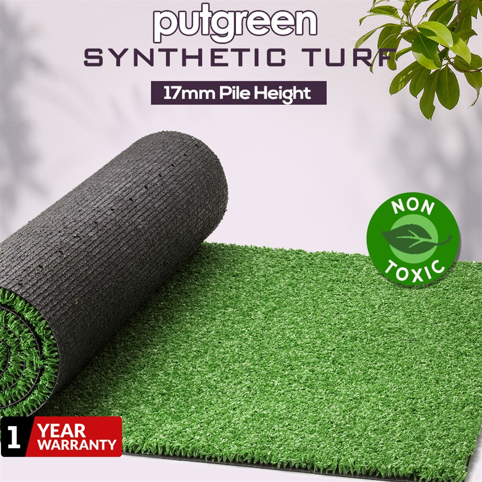 30SQM Artificial Grass Lawn Outdoor Synthetic Turf Plastic Plant Lawn