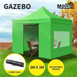 Mountview Gazebo Tent 3x3 Marquee Mesh S