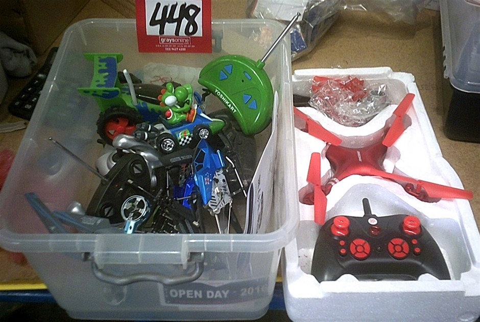 Range of Remote Control Toys. Drones, Cars, Helicopters etc. As pictured