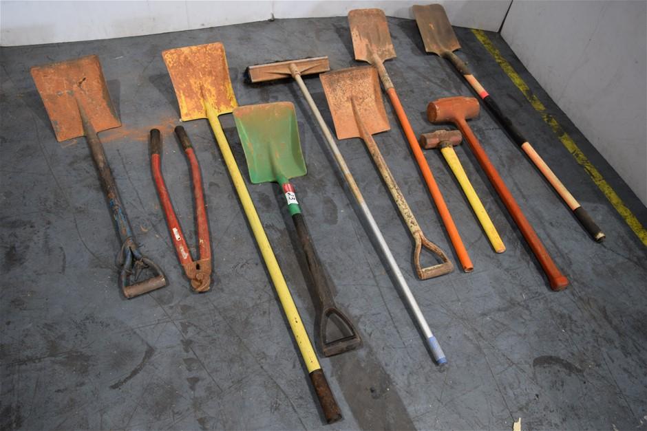 Lot of 10 Assorted Gardening Tool