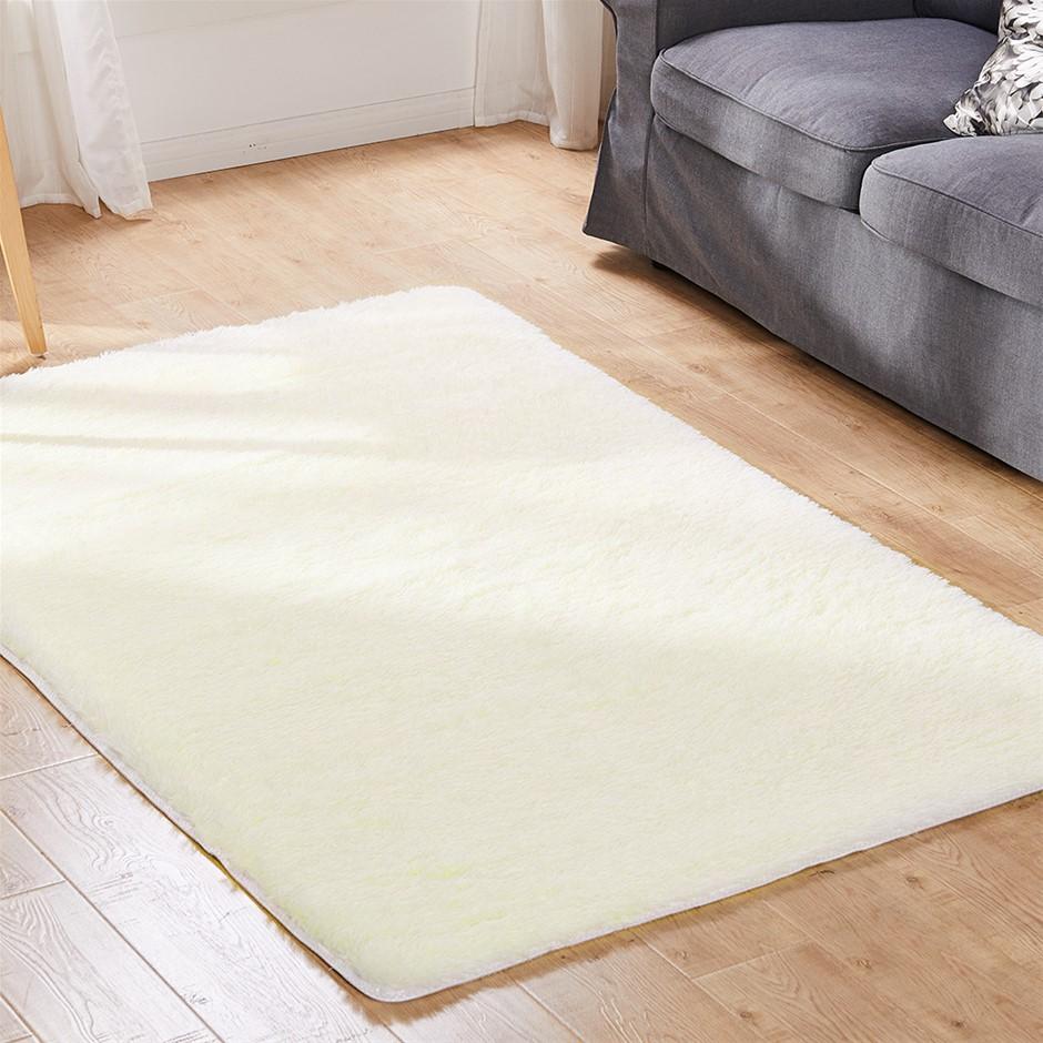 Designer Soft Shag Shaggy Floor Rug Confetti Carpet 200x230cm