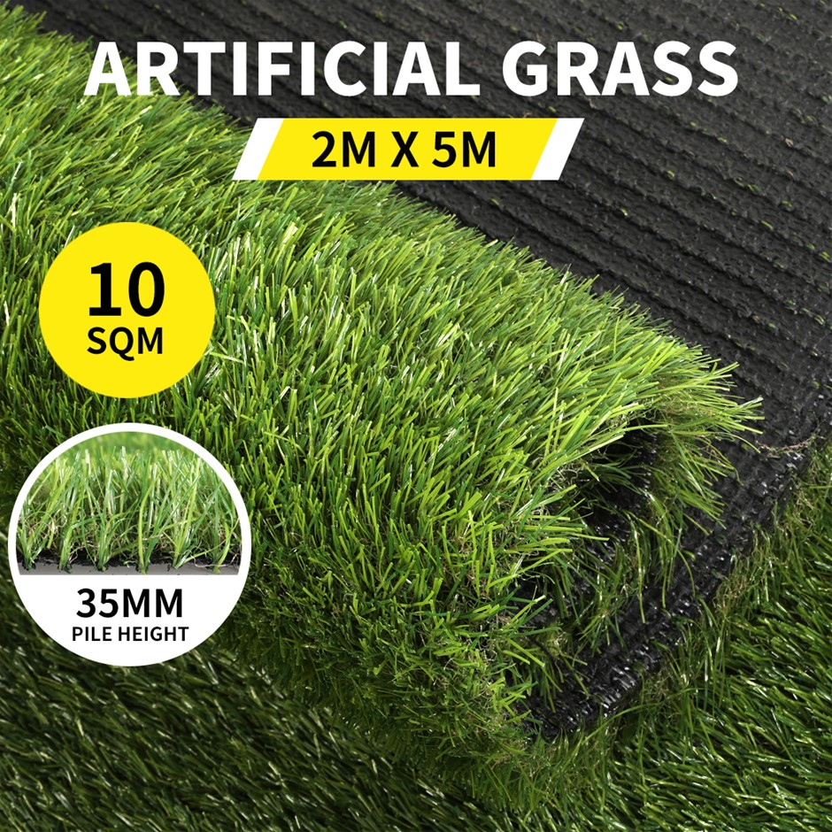 10SQM Artificial Grass Lawn Outdoor Synthetic Turf Lawn 35MM