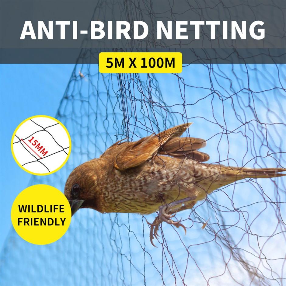 Anti Bird Netting Pest Commercial Fruit Tree Plant Knitted Nylon 15/20MM