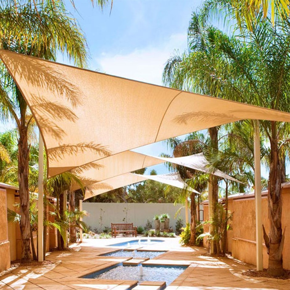 Outdoor Awning Cloth Sun Shades Sail Shelter Tent Canopy UV Protection
